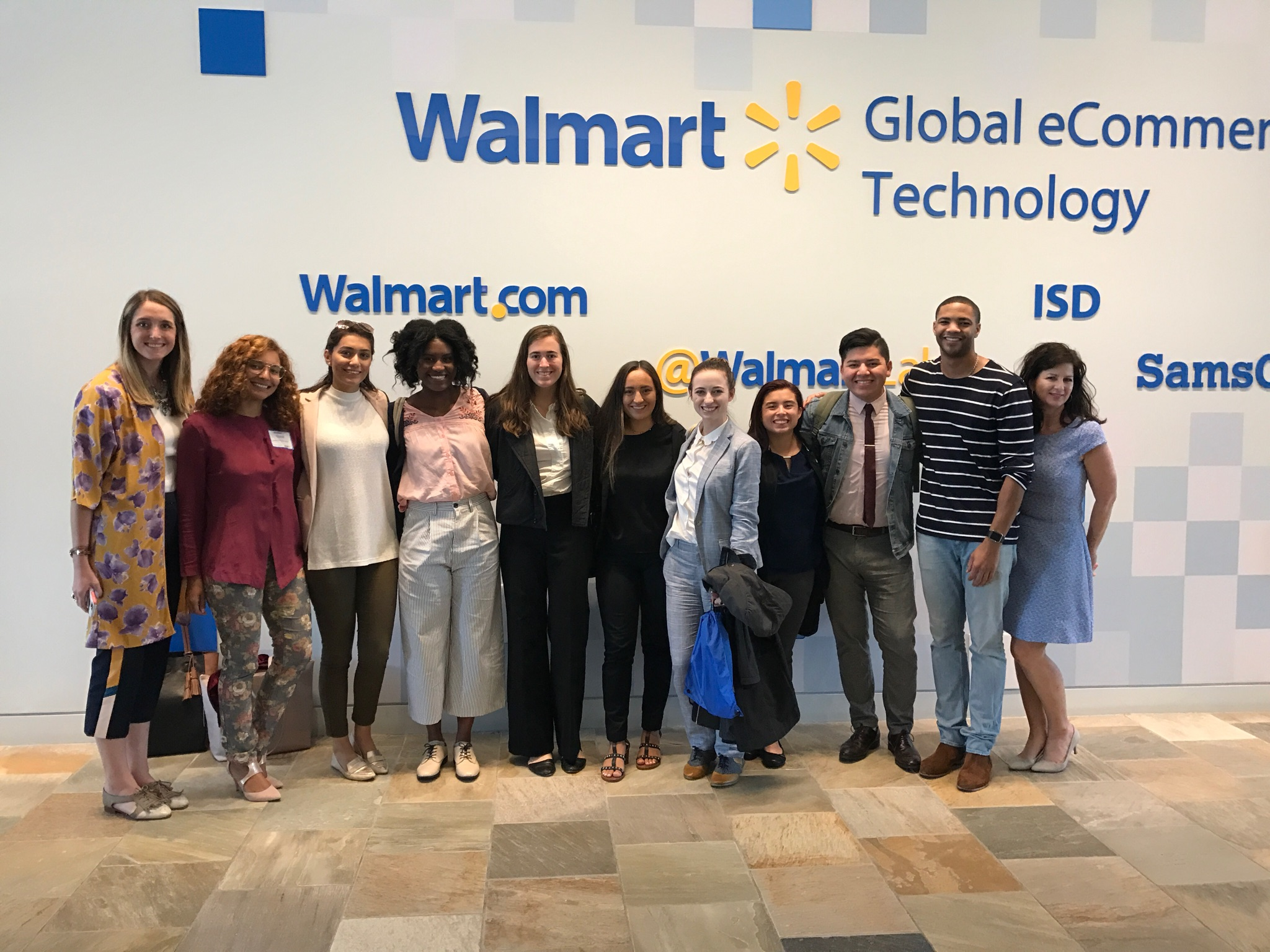university of north texas; digital study tour; digital retailing degree; walmart.com